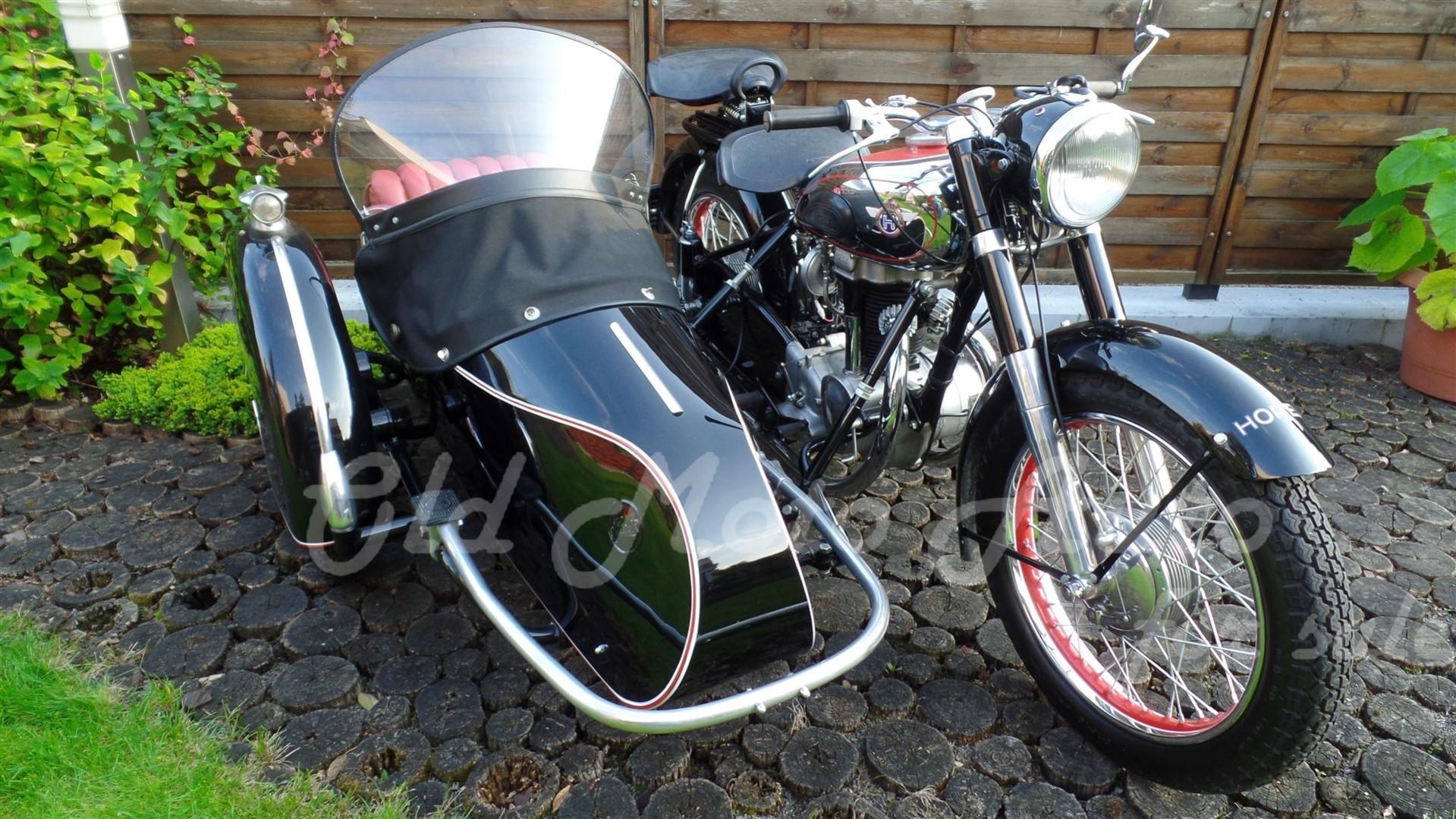 Horex Regina 350 + Steib LS 200