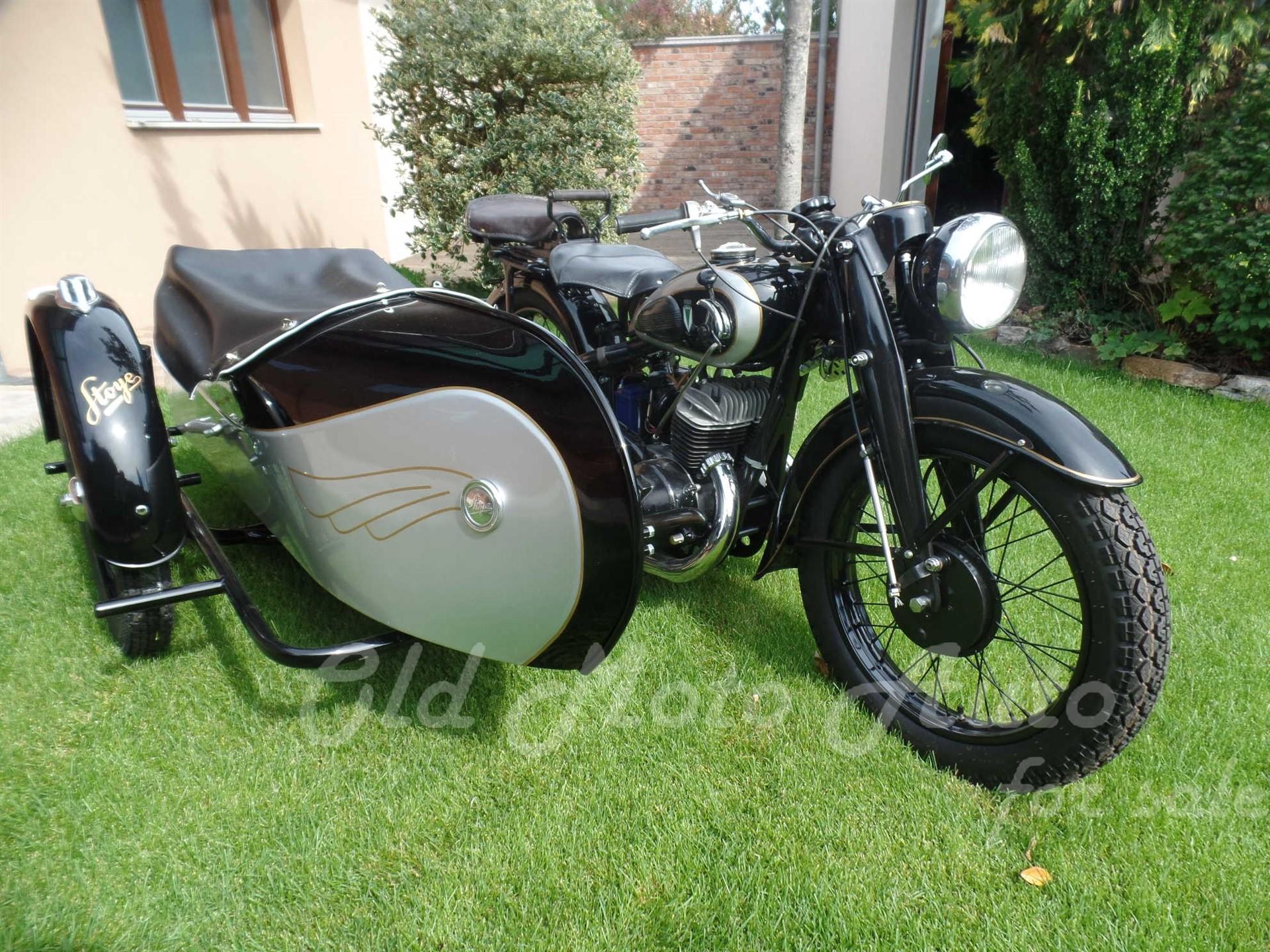 DKW SB 500 1938 + Stoye oldalkocsi